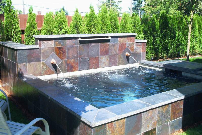 Show us your raised pond walls for Koi pond design layout