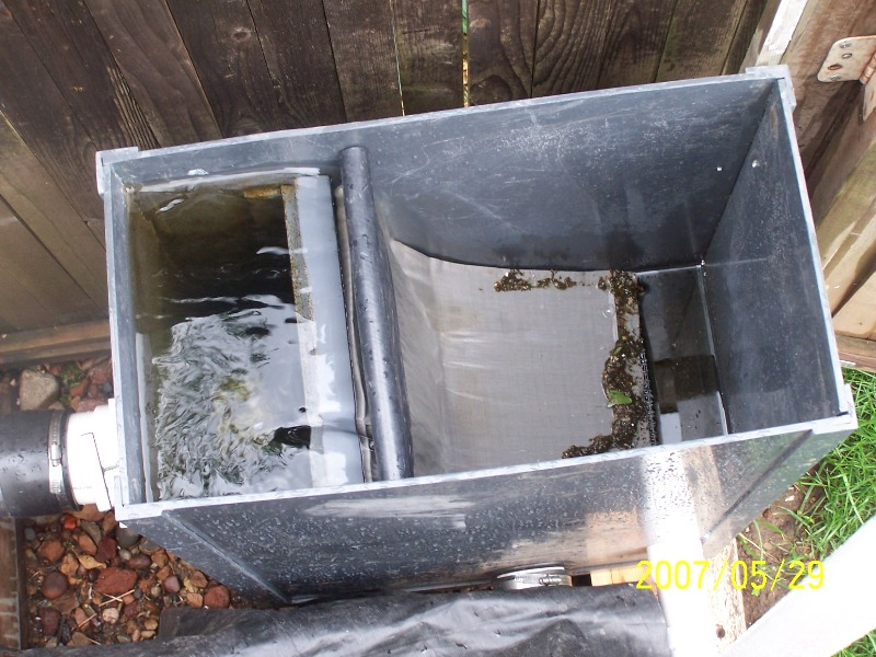 Best homemade filter media for pond best free engine for Koi pond sand filter system