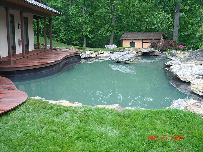 Ponds With Deck