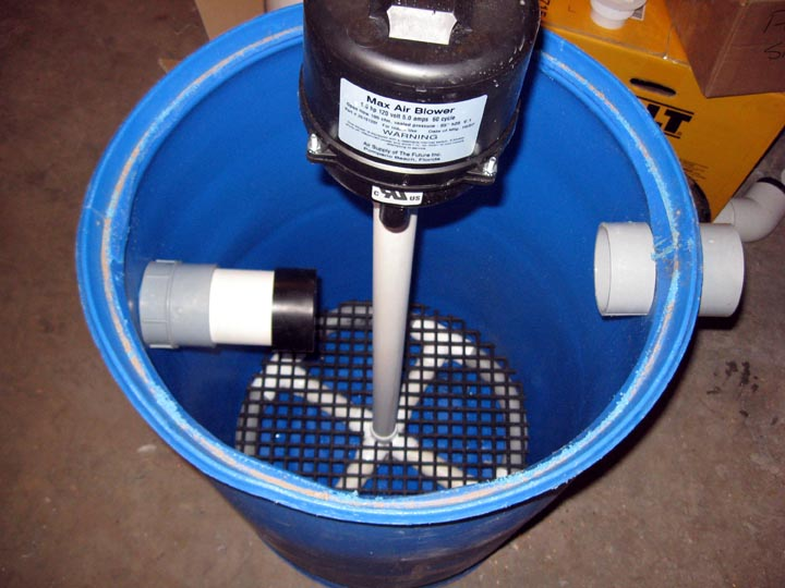 Birdman 39 s sand gravel filter for How to build a fish pond filter system