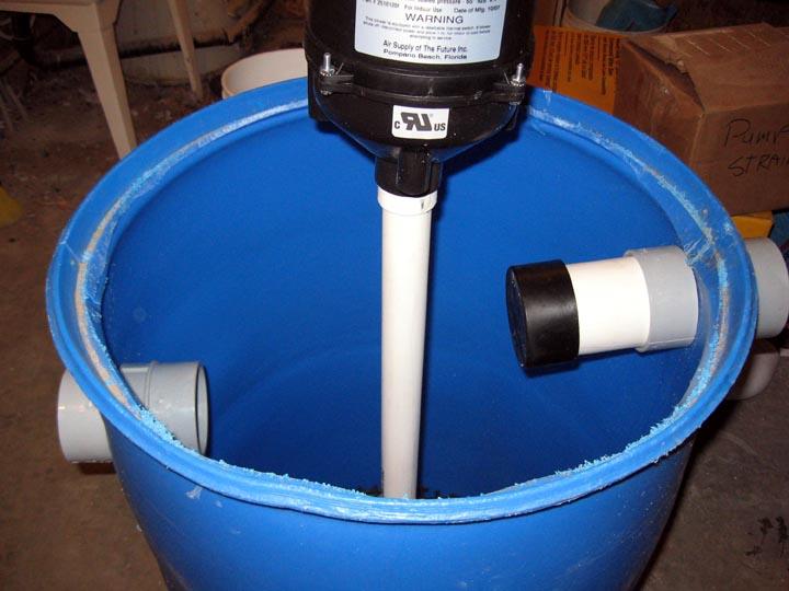 Birdman 39 s sand gravel filter for Diy gravel filter