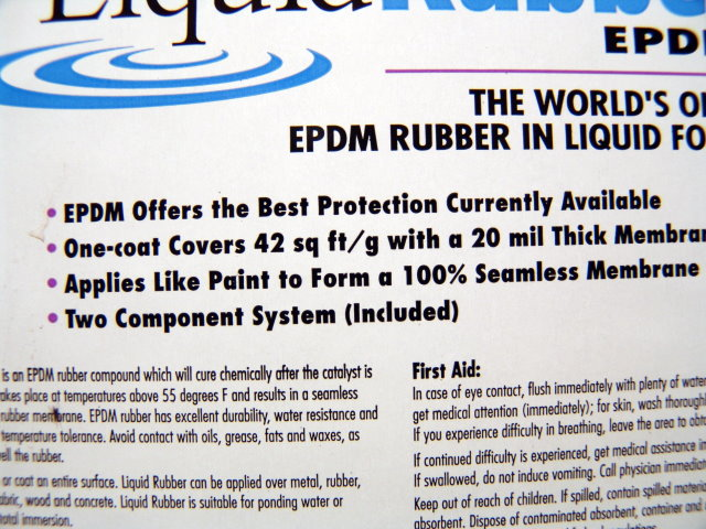 Liquid Rubber And Epdm Roof Repair Review