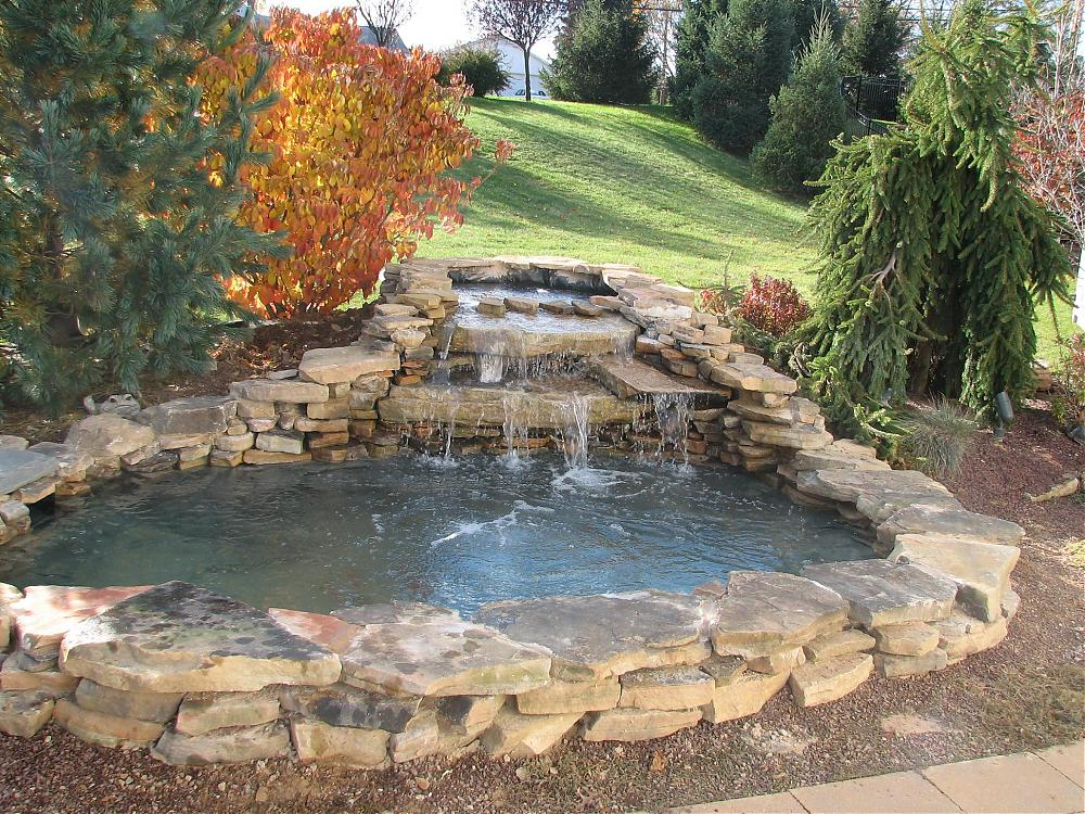 New ponds builds from northeast koi and pond for Koi pond forum