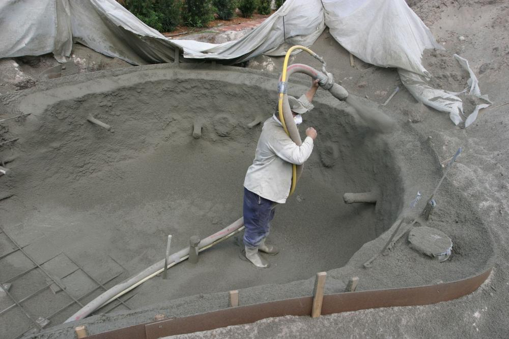 how to lay concrete cement for a koi pond. Black Bedroom Furniture Sets. Home Design Ideas