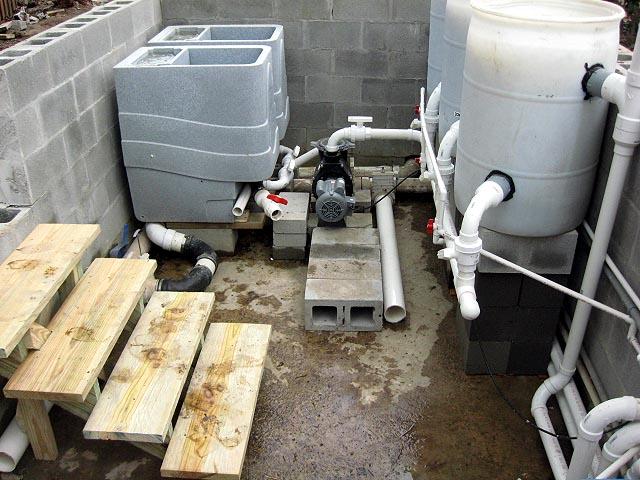 Gordon parr filtration redo for Nexus pond filter setup