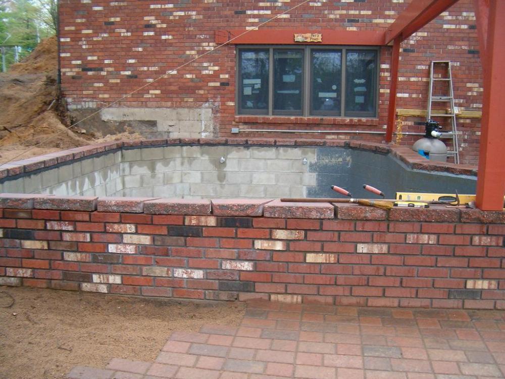 Brick Koi Ponds