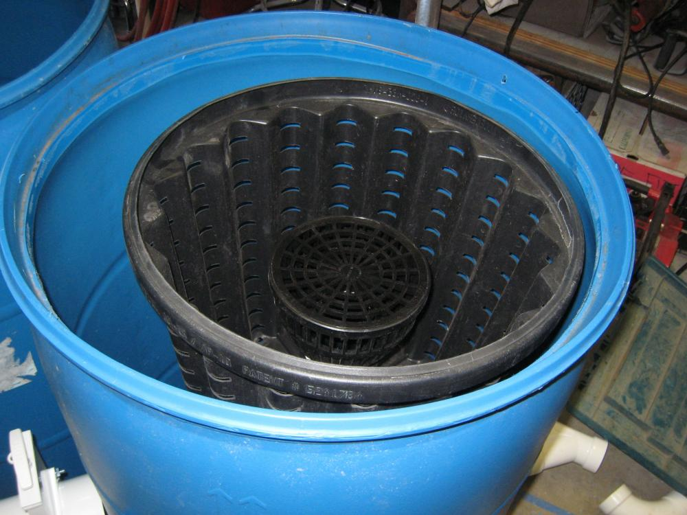 Diy static pre filter basket for Pond filter basket