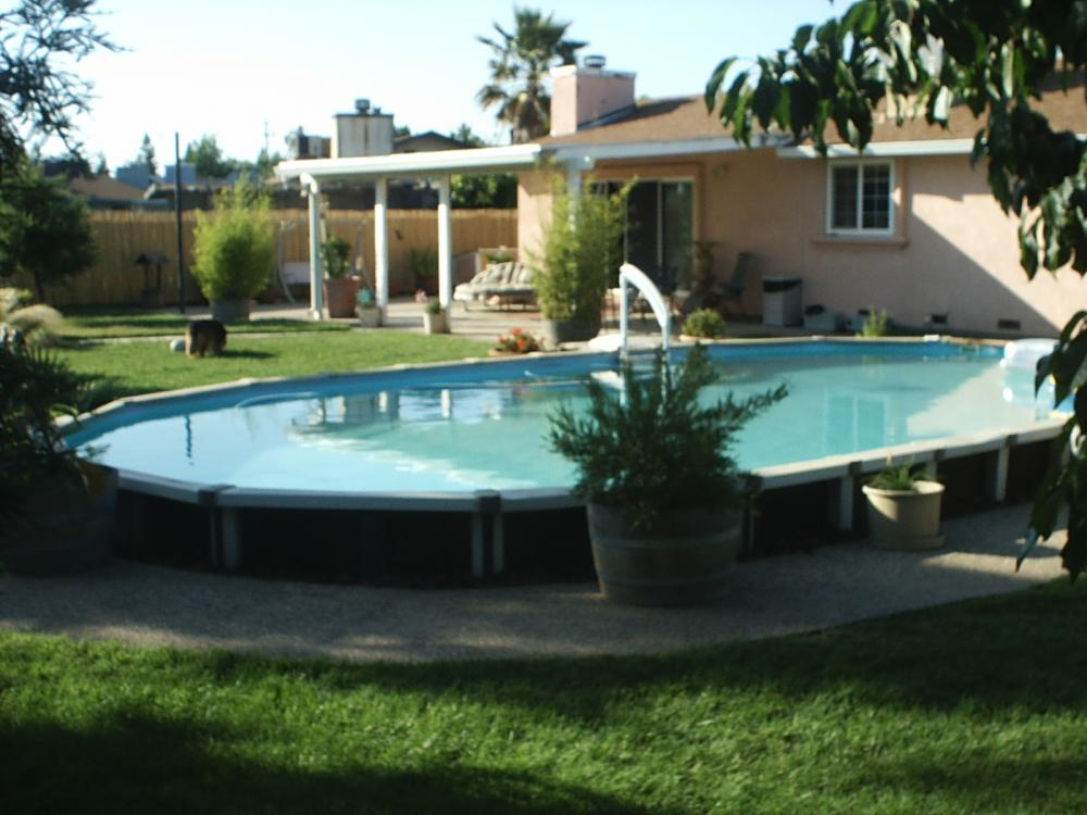 Swimming pool conversion for Swimming pool conversion