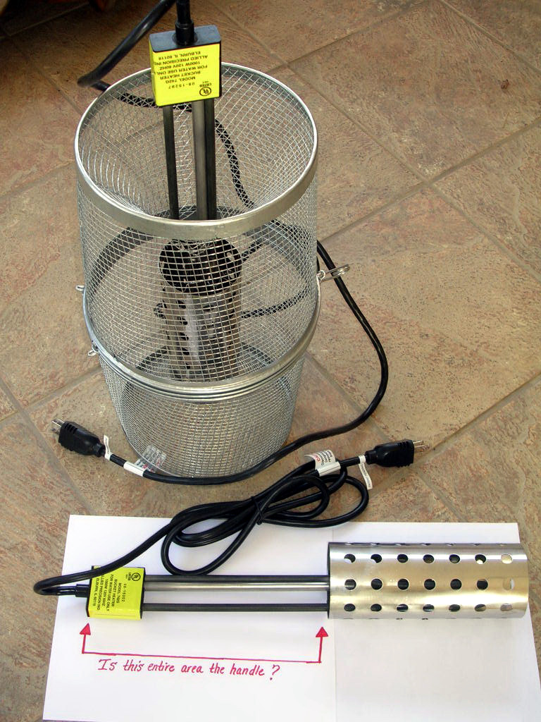 Submersible Bucket Heater Question