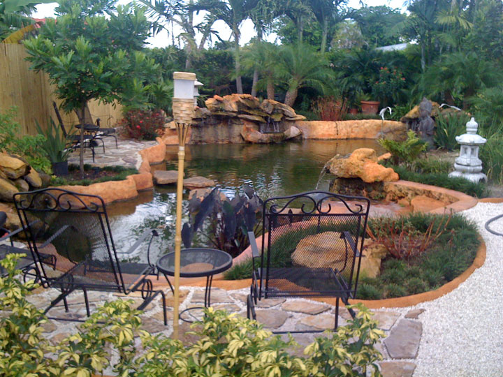 Another open water koi pond 13 000 us gal for Koi pond forum