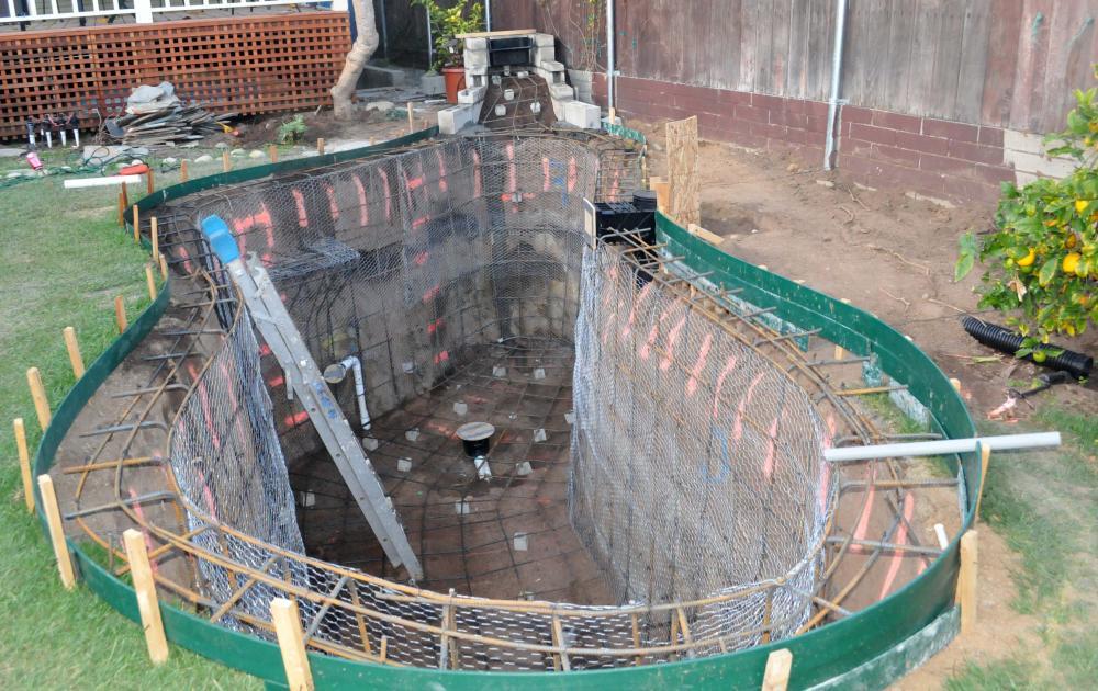 New koi pond construction plumbing filter design for Koi pond construction design