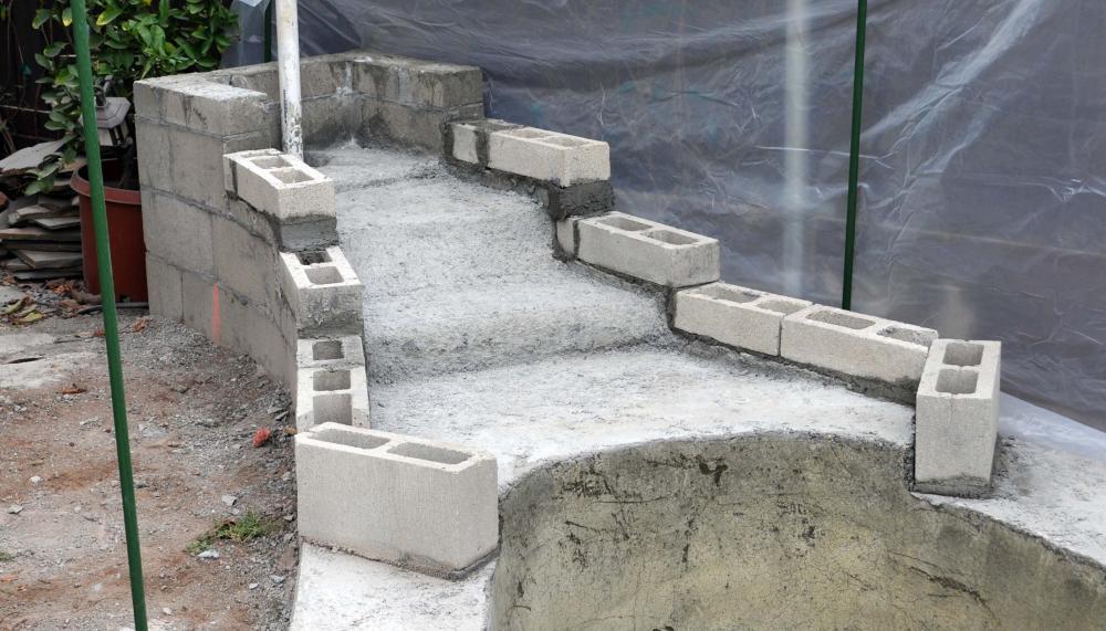 New koi pond construction plumbing filter design for Koi pond plumbing