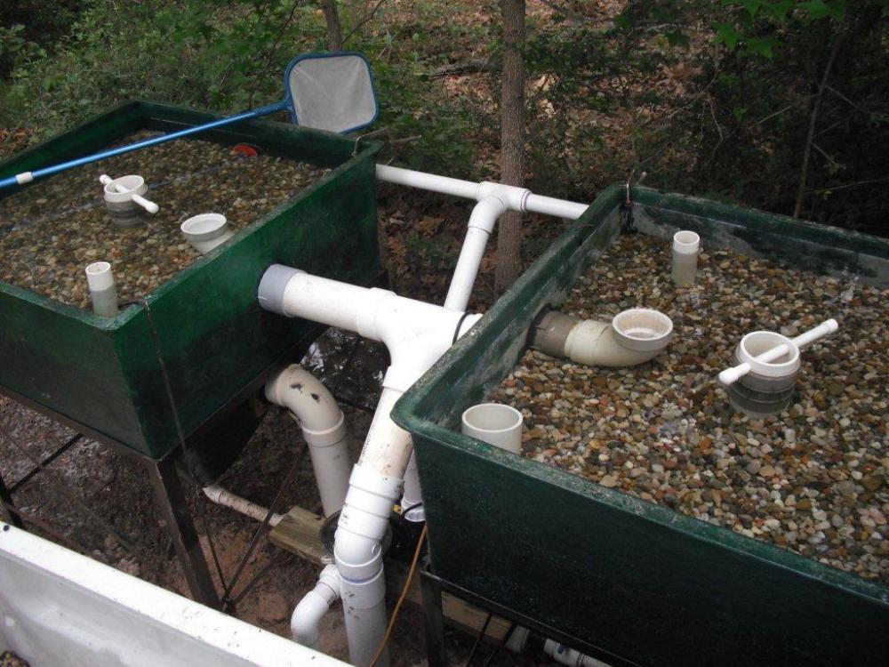 275 gal sand gravel filters for Garden pond gravel