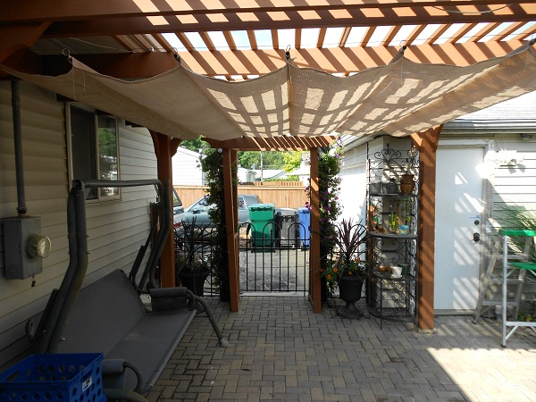 Woodworking plans shade pergola plans pdf plans for Shade arbor designs