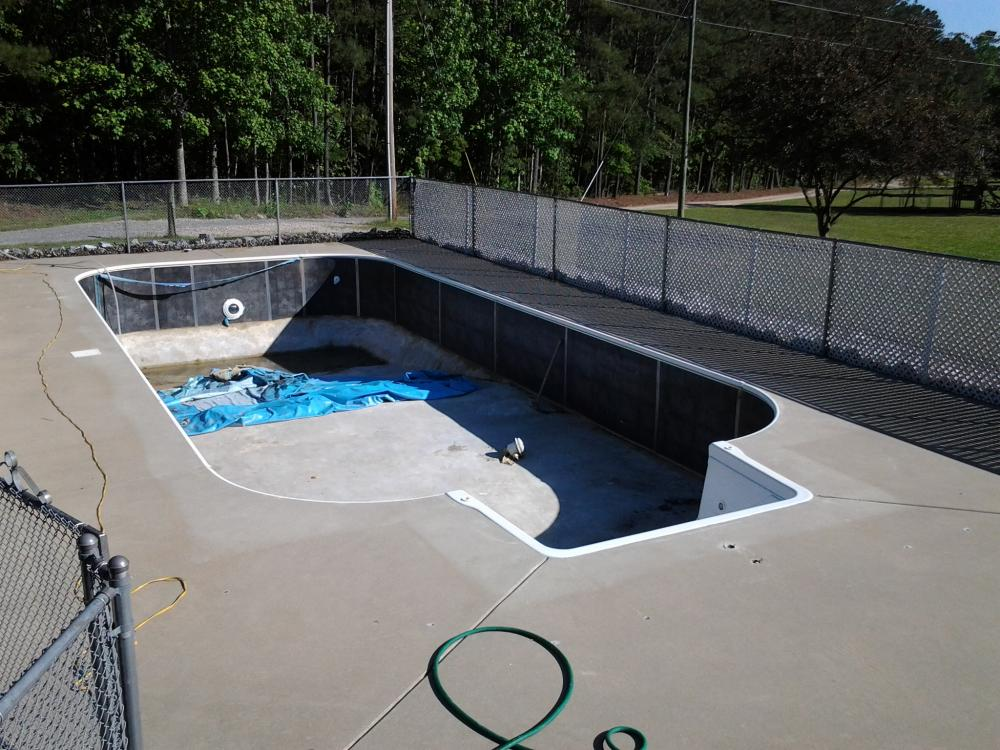 Pool conversion to totally diy koiphen pond for Pond to swimming pool conversions