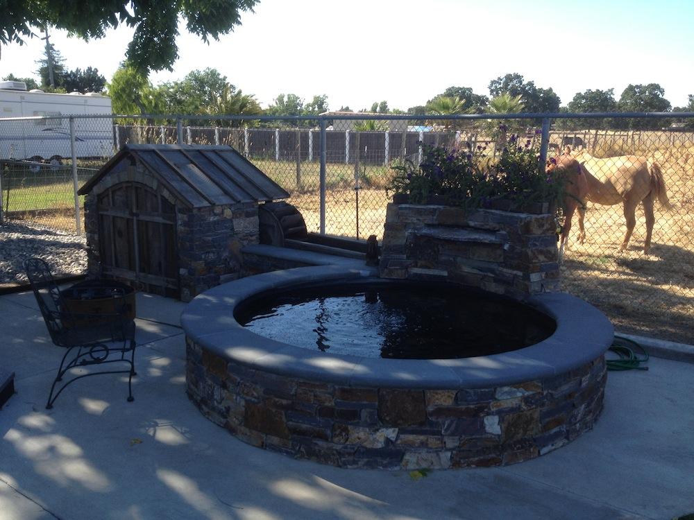 Poly Tank Pond