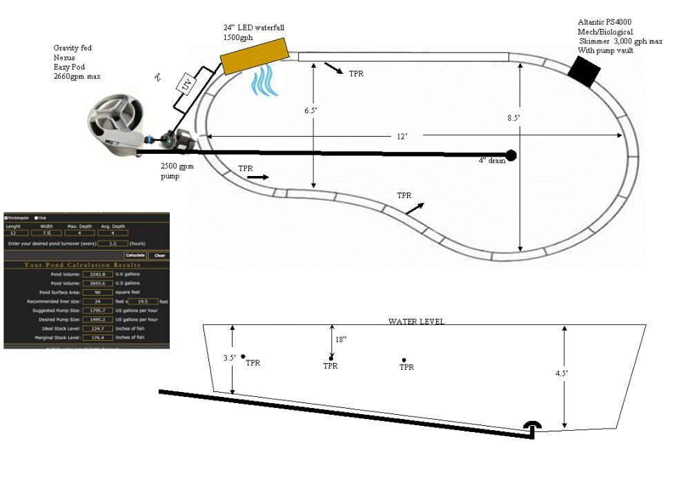Help With Koi Pond Plumbing And Design
