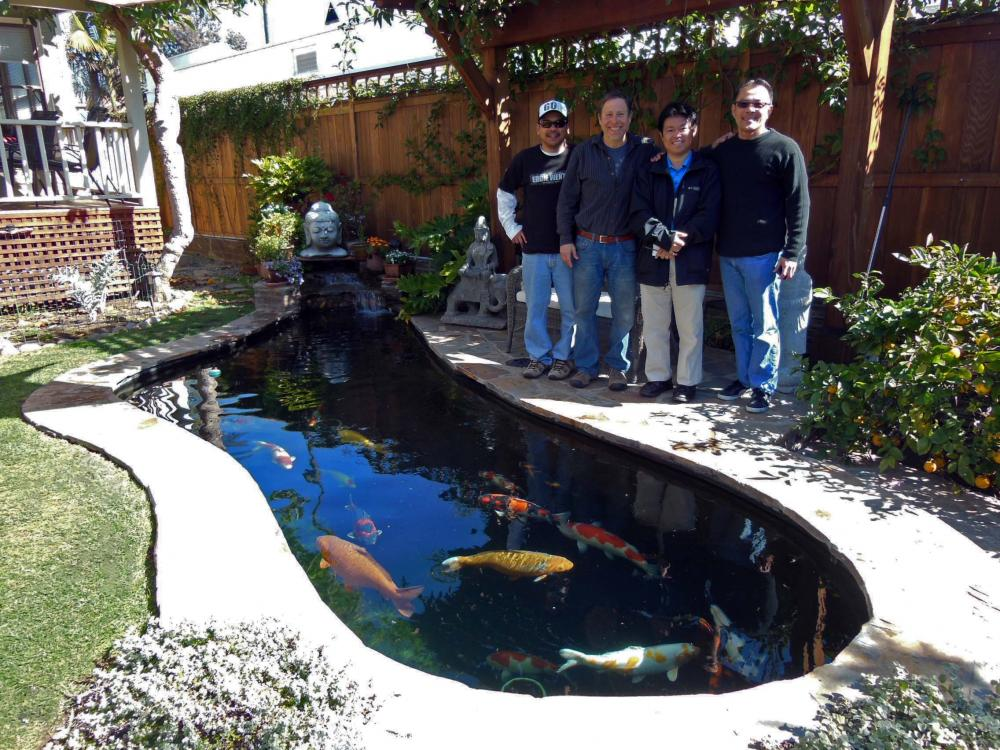 New Koi Pond Construction Plumbing Filter Design