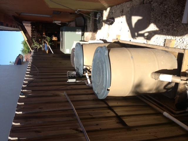 1500 gallon pond filtration for Gravity fed pond filter setup