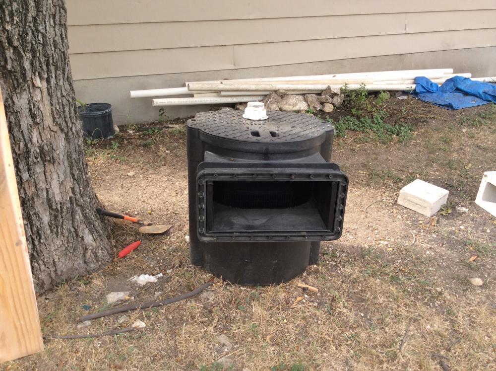 Preformed pond filtration plumbing need help please for Pond pre filter diy