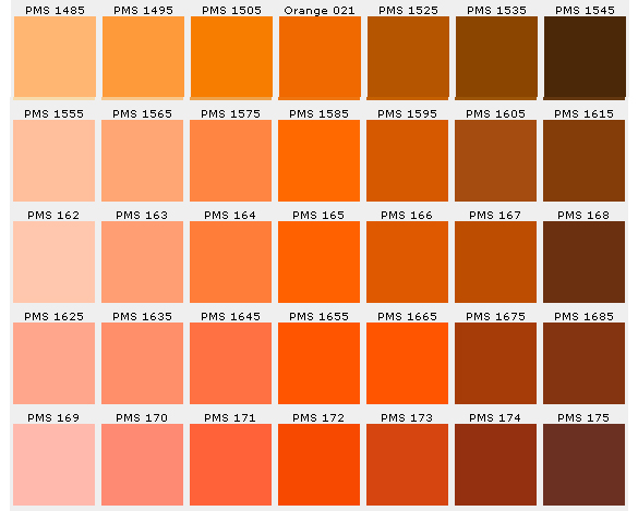 24 Shades Of Orange Color Palette Graf1x Is This Pink Beni