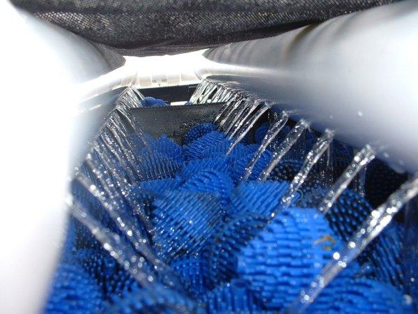 Diy trickle filter barrels and media for Diy koi pond filter design