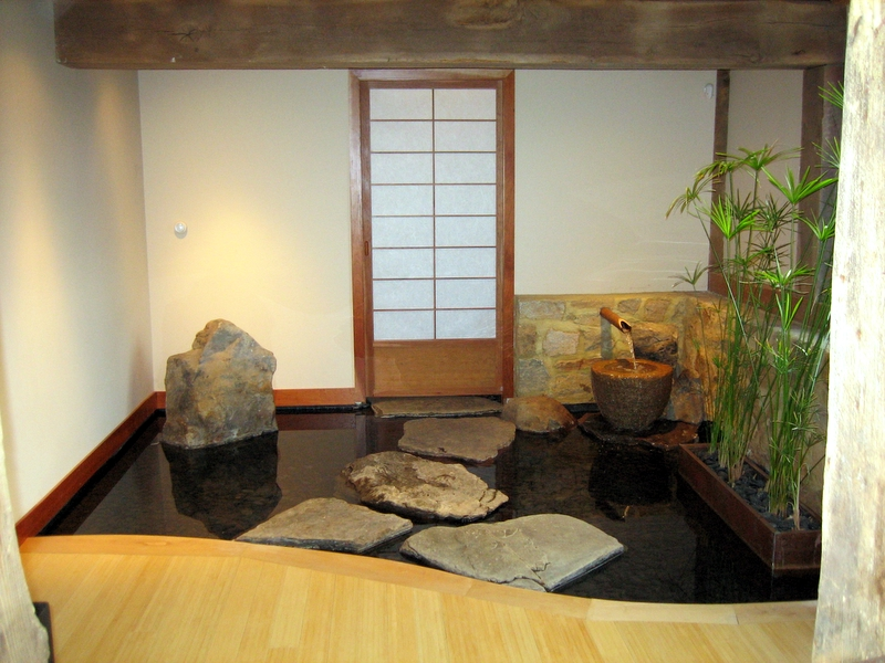 Pictures koi indoor pond for Indoor koi pond ideas