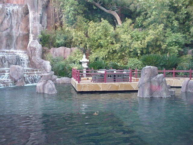 okada pond wynn las vegas lots of pics