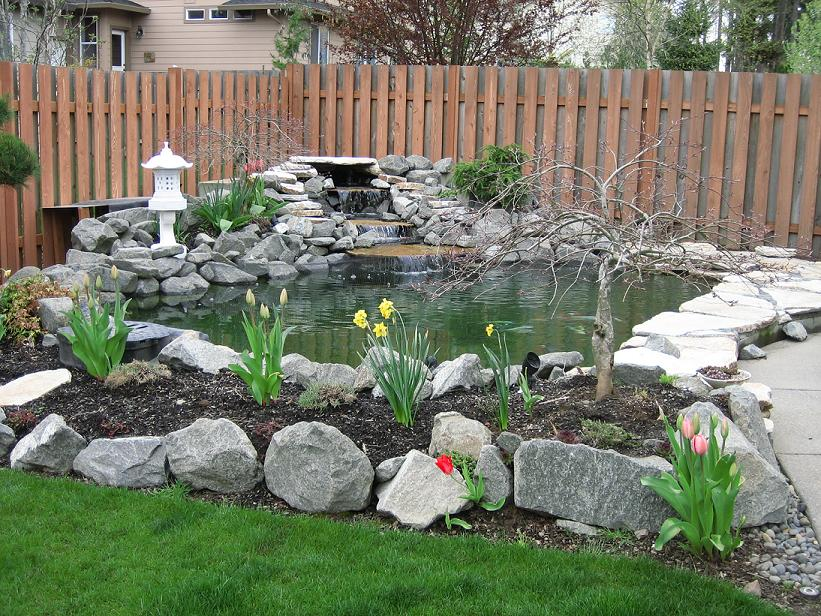 Show us your round ponds for Round koi pond