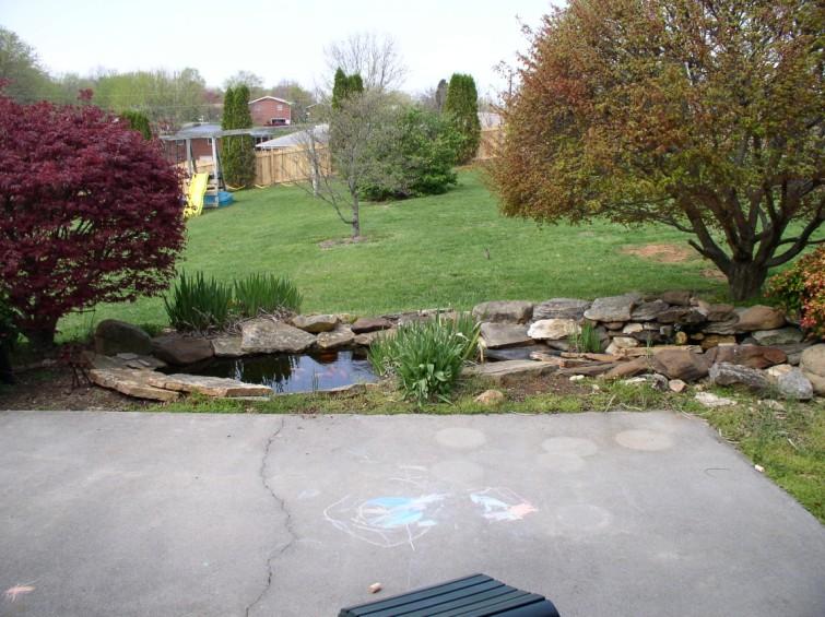 Koi pond retrofit ideas please for Koi pond forum