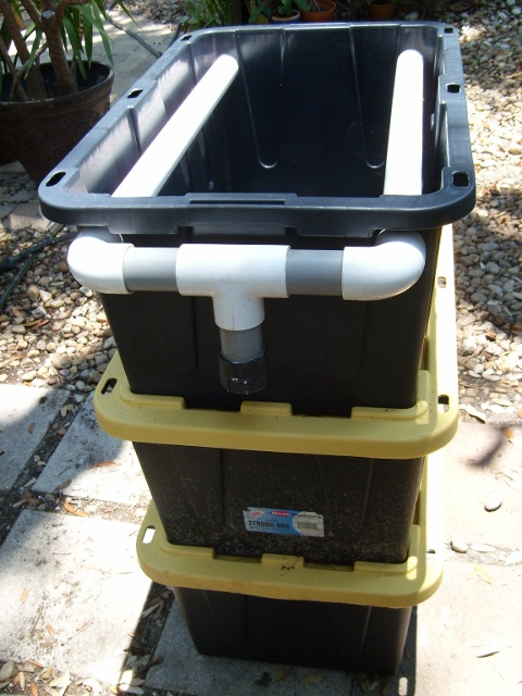Diy trickle tower on a limited budget for Homemade koi pond filter system